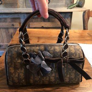 Christian Dior Trotter Romantique Boston Bag